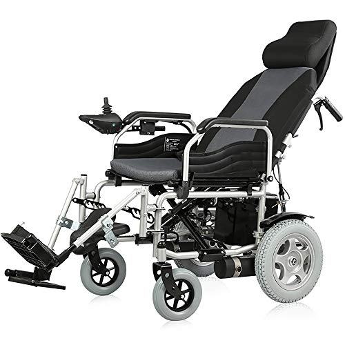 For Sale! Electric Wheelchair Walker Powerchair Folding Lightweight Portable Power Chair Travel Whee...