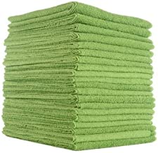 Microfibre Cloth | Microfibre Window Cleaning Cloth, Microfiber Cleaning Cloth 30cm x 40cm, 20 Pack, Car Microfibre Cleani...
