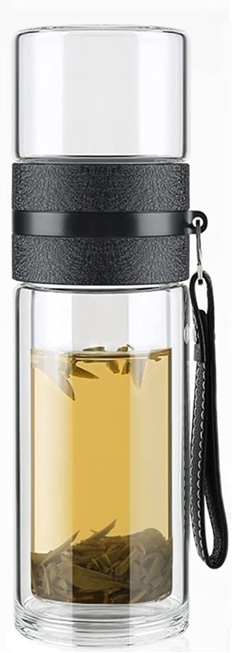 15oz Double Wall Nippon regular agency Glass Water Separation Te Bottle and Trust Tea