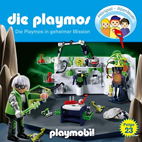 Die Playmos in geheimer Mission cover art