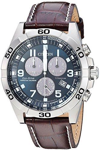 Citizen BL5551-06L Eco-Drive Men's Titanium Watch  $152 at Amazon
