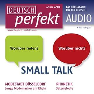Deutsch perfekt Audio - Small Talk. 4/2011 cover art