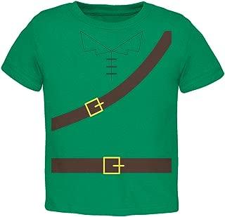Old Glory Halloween Robin Hood Costume Kelly Green Toddler T-Shirt
