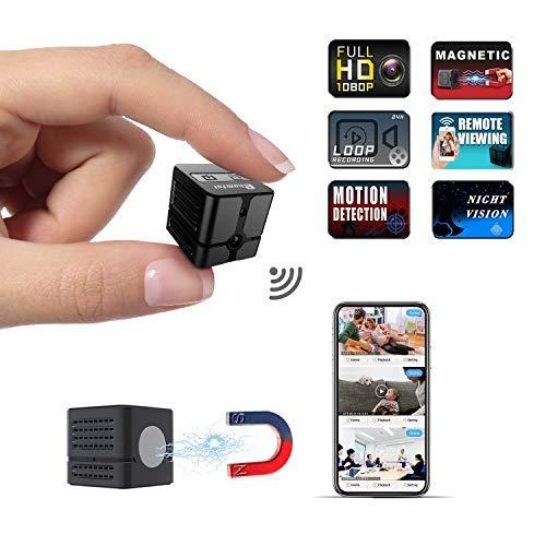 Mini Spy Camera Wireless Hidden Camera Cop Spy Cam, Ehomful WiFi Camera...
