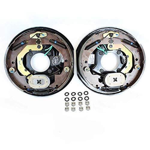 "Southwest Wheel 10"" X 2-1/4"" Trailer Electric Brake Assembly (1 Right + 1 Left)"