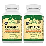 Terry Naturally CuraMed 750 mg (2 Pack) - 60 Softgels - Superior Absorption BCM-95 Curcumin Supplement, Promotes Healthy Inflammation Response - Non-GMO, Gluten-Free, Halal - 120 Total Servings