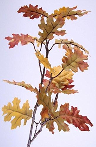 Künstliche Herbstzweige Eichenlaub Deko Zweige. L 70cm. 3 Stück