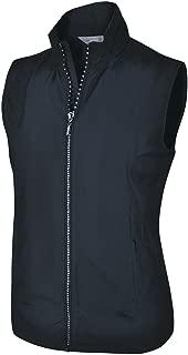 Monterey Club Ladies Lightweight Rhinestone Zipper Vest #2788
