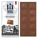 Swiss Alpine Milk Chocolate Snack Bar Size 3.5 oz (5 Pack)