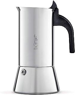 Bialetti Venus - Cafetera Italiana Espresso, Acero, Plateado, 6 Tazas