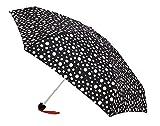 Paraguas Vogue ultramini. Tres Estampados en Blanco y Negro.