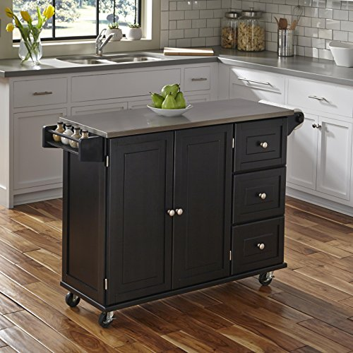 5-Home Styles Liberty Kitchen Cart/Cabinets