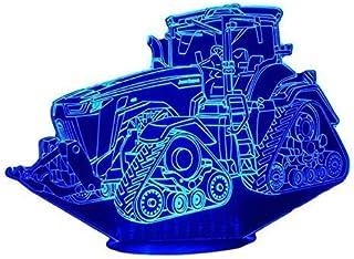 J. D. 8RX, Lampada illusione 3D con LED - 7 colori.