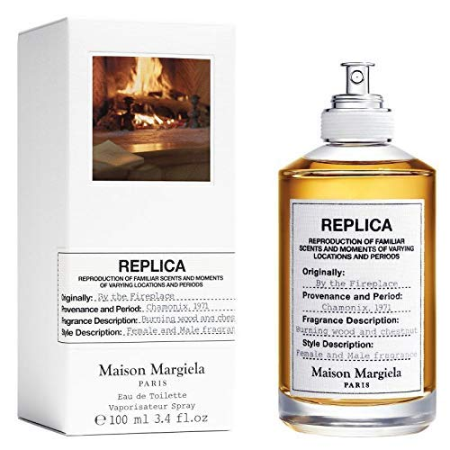 100% Authentic Maison Margiela Replica By the Fireplace 100ml edt + 3 Niche samples - Free
