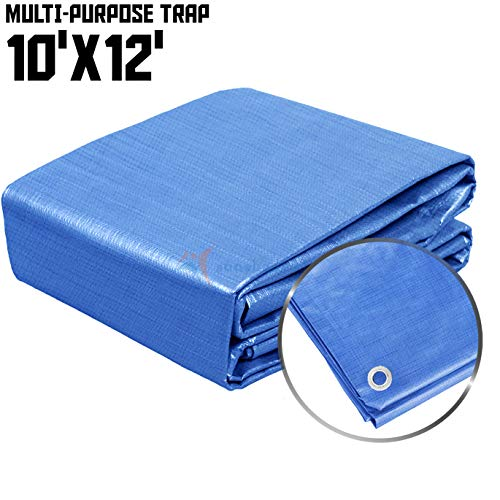 10x12 Multi-Purpose Waterproof Tarp