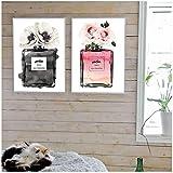 RuiChuangKeJi Mode Parfum Leinwand Poster und Drucke Pari