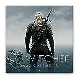 Calendario The Witcher 2022 incluye póster - Calendario 2022 pared - Calendario 12 meses - Calendario anual│ Calendario de pared - Calendario mensual - Producto con licencia oficial
