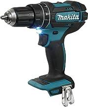 Makita Dhp482Z, 150 W, 18 V, Niebieski, Srebrny, Mały