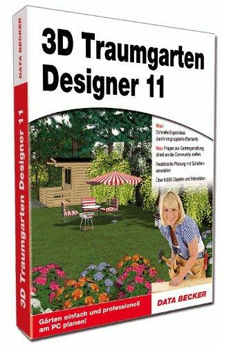 Data Becker 3D Traumgarten Designer 11