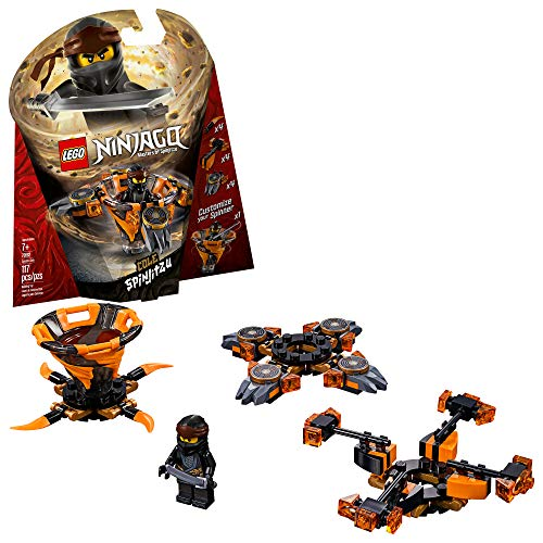 LEGO NINJAGO Spinjitzu Cole 70662 Building Kit, 2019 (117 Pieces)