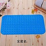 xuandaolin Badewanne Matte Anti Schimmel rutschfeste Duschmatte wasserdicht ungiftig und geschmacklos Königsblau 78cm × 46cm