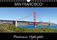 SAN FRANCISCO Panoramic Highlights (Wall Calendar 2021 DIN A4 Landscape): Famous Views (Monthly calendar, 14 pages )