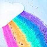 MMLC Badesalze Regenbogen-Wolken-Badebomben-Salz-Peeling-feuchtigkeitsspendender...