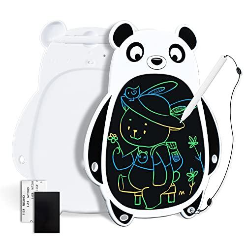 YOUNGRAYS Juguete para Niños, Tableta de Escritura LCD 8.5 Pulgadas, Pizarra Digital Multicolor para Dibujar y Escribir, ewriter portátil, Regalo y Juguete Educativo para 3 4 5 6 años niños (Panda)