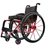 Walker Chair Wheelchair Sillas de ruedas deportivas Inhabilitado Empujar manualmente...