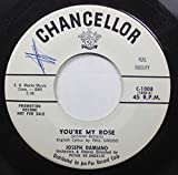 JOSEPH DIAMOND Orchestra & Chorus Directed by PERTER DE ANGELIS 45 RPM YOU'RE MY ROSE (Schreler-Bottero) / MY PERUVIAN LOVE SONG (Marcucci-De Angelis)