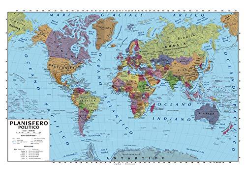 Cartina Geografica Mondo Buffetti.Mappe E Cartine Cancelleria E Prodotti Per Ufficio Amazon It
