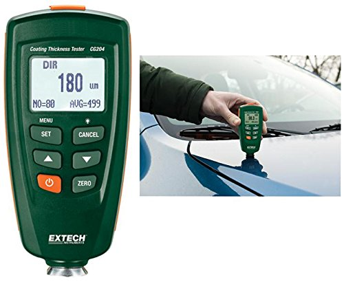 Extech CG204 Digital Coating Thickness Tester