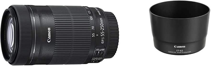 Canon Telezoomobjektiv Ef S 55 250mm F4 5 6 Is Stm Kamera