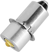 Ampoule de lampe de poche LED Puissance 3W 4-12V pi/èce de rechange LED Kit de conversion Ampoules LED haute luminosit/é de travail durgence lampe de poche ampoules de rechange 1 pi/èce