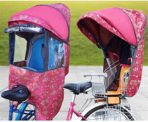 X&Y Niño Bike Asiento Accesorio Cubierta de Lluvia Cuatro Seasons Universal (Color : C)