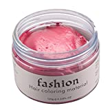 Hair Coloring Wax Temporary 7 Colors Unisex DIY Hair Color Wax Mud Dye Cream Modeling Hairstyle Cream for Party Cosplay Nightclub Masquerades Halloween