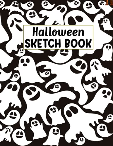 Halloween Sketch Book: This Halloween Sketchbook for Drawing, Painting, Writing, Sketching or Doodling for artists, kids, adults, students, Men, dad, mom, granny, friend, sister, Teens.