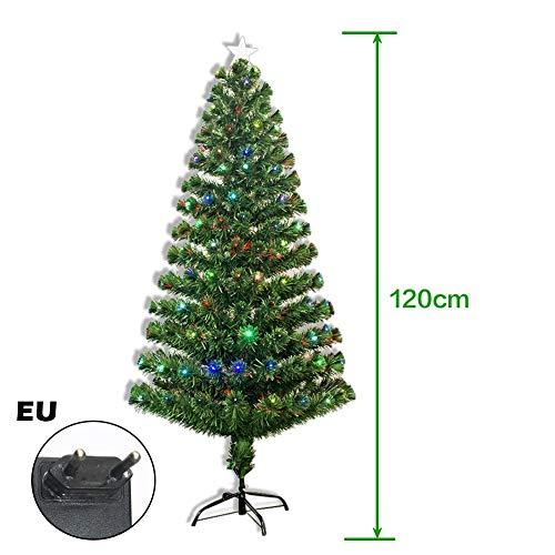 iBoosila Tannenbaum - Weihnachtsbaum, Laterne Dekoration, 120 CM / 150 CM / 180 CM / 210 CM Vier Spezifikationen, Eisen Rahmen Unterstützung, Weihnachten Dekoration hot sale fit