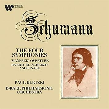 Schumann: Symphonies, Manfred Overture & Overture, Scherzo and Finale