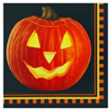 Servilletas calabaza Halloween