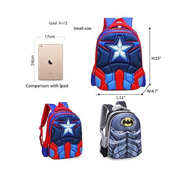 51ubve4+ZFL. SS600  - Mochila para niños Mochila primaria superhéroe hombre araña mochila para niños