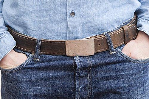 Gürtel für Männer HAEUTE-LEDERWERKSTATT Wendegürtel aus echtem Leder