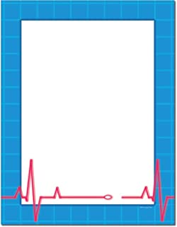 Heartbeat Letterhead Letterhead Laser & Inkjet Printer Paper (100 Pack)