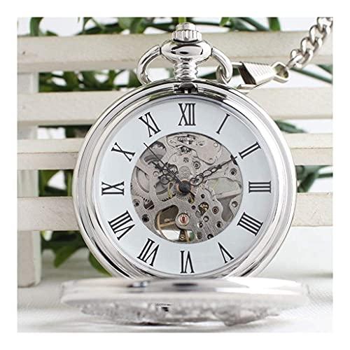 ZHFRC Reloj de Bolsillo Elegante clásico.Reloj de Bolsillo, Reloj clásico de Bolsillo mecánico de Phoenix Industrial Phoenix, Mejor...