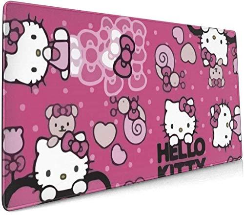 Alfombrilla de ratón grande para juegos, diseño de Hello Kitty Party Team