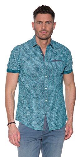 PME Legend Short Sleeve Shirt Check Print Bart, Vir