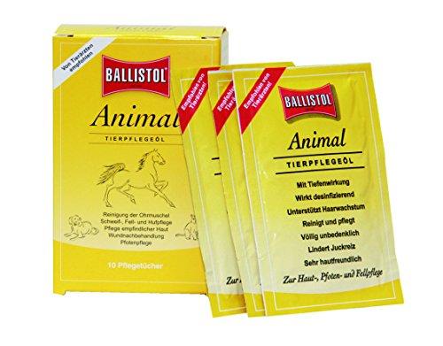Ballistol Tierpflege Animal Tücher Box à 10 Stück, 26590