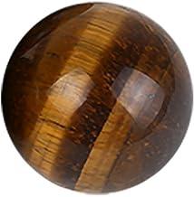 Ouniman 25mm Stone Ball Tiger Eye Crystal Ball Hands Toys Quartz Crystal Healing Ball Great Gift for Friend,Men,Women,Boyfriend,Father,Husband