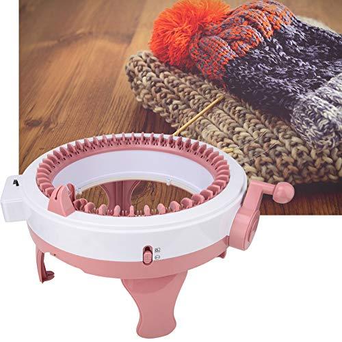 Máquina de tejer, telar inteligente Telar de telar redondo Máquina de coser de tejer a mano DIY 48 agujas Máquinas de tejer