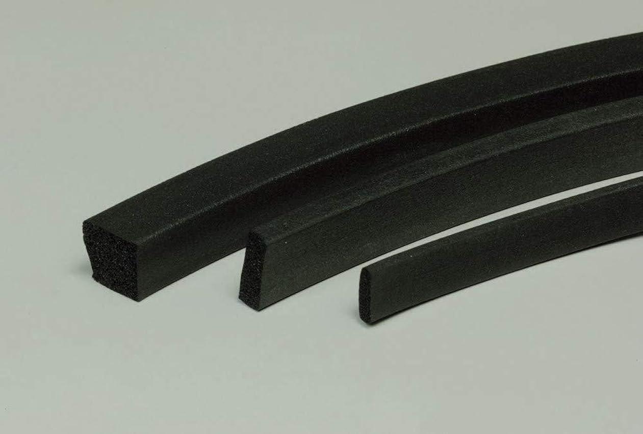 よろめくプロペラ重要フッ素ゴムスポンジ角紐 5×30 30M巻 単位:30m/巻